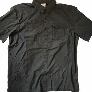 Field and Stream Grey Casual Button Front Shirt